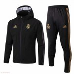 Chaqueta con capucha Real Madrid Windrunner 19-20 black