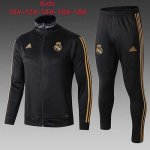 Ninos Chaqueta Real Madrid 19-20 black