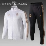 Ninos Chaqueta Real Madrid 19-20 White