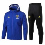 Chaqueta con capucha Manchester United Windrunner 19-20 blue
