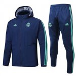 Chaqueta con capucha Real Madrid Windrunner 2019-20 blue