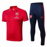 Camiseta Polo Arsenal 19-20 red