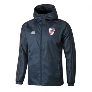 Chaqueta con capucha Windrunner River Plate Bleu fonce