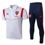 Camiseta Polo Arsenal 19-20 White