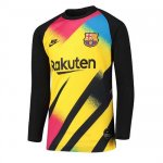 Camiseta Barcelona Manga Larga Portero yellow 2019-20