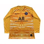 Camiseta PSG Manga Larga Portero yellow 2019-20